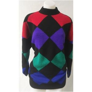 Multi Color Vintage Sweater Size XL